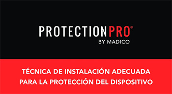spanish language verion of thumbnail of proper technique for protectionpro installation pdf